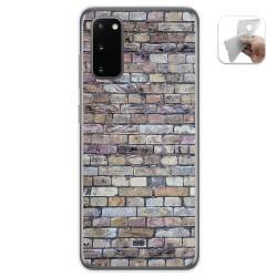 Funda Gel Tpu para Samsung Galaxy A41 diseño Ladrillo 02 Dibujos