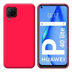 Funda Silicona Gel TPU Rosa para Huawei P40 Lite