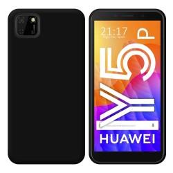Funda Silicona Gel TPU Negra para Huawei Y5p