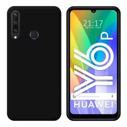Funda Silicona Gel TPU Negra para Huawei Y6p