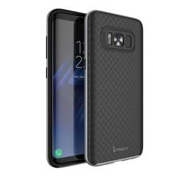 Funda Tipo Neo Hybrid (Pc+Tpu) Negra / Plata para Samsung Galaxy S8 Plus