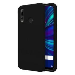 Funda Silicona Líquida Ultra Suave para Huawei P Smart + Plus 2019 color Negra