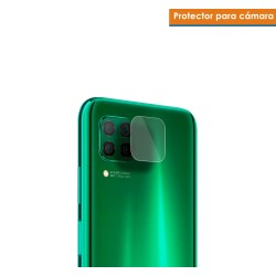 Protector Cristal Templado Cámara Trasera para Huawei P40 Lite Vidrio