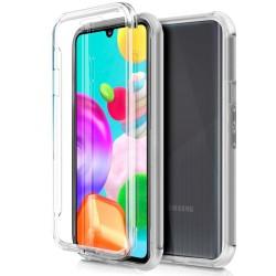 Funda Completa Transparente Pc + Tpu Full Body 360 para Samsung Galaxy A41