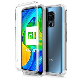 Funda Completa Transparente Pc + Tpu Full Body 360 para Xiaomi Redmi Note 9