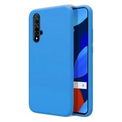 Funda Silicona Líquida Ultra Suave para Huawei Nova 5T / Honor 20 color Azul