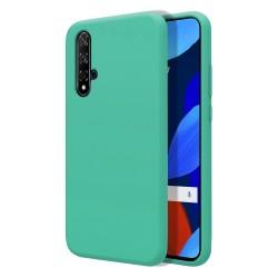 Funda Silicona Líquida Ultra Suave para Huawei Nova 5T / Honor 20 color Verde