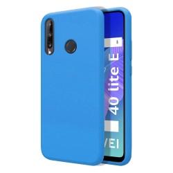 Funda Silicona Líquida Ultra Suave para Huawei P40 Lite E color Azul