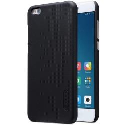 Carcasa Funda Negra Nillkin Modelo Frosted + Protector para Xiaomi Mi 5C