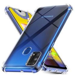 Funda Gel Tpu Anti-Shock Transparente para Samsung Galaxy M31