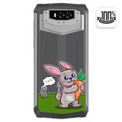 Funda Gel Transparente para Blackview BV9100 diseño Conejo Dibujos