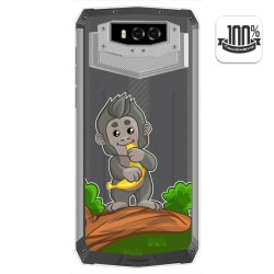 Funda Gel Transparente para Blackview BV9100 diseño Mono Dibujos