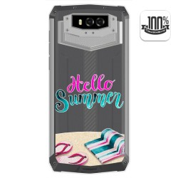 Funda Gel Transparente para Blackview BV9100 diseño Summer Dibujos