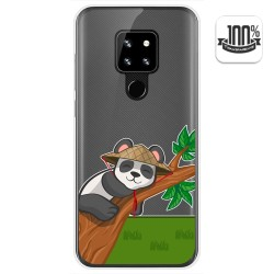 Funda Gel Transparente para Cubot P30 diseño Panda Dibujos