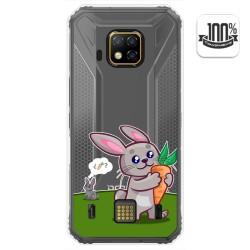 Funda Gel Transparente para Doogee S95 Pro diseño Conejo Dibujos