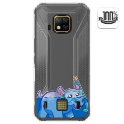 Funda Gel Transparente para Doogee S95 Pro diseño Hipo Dibujos