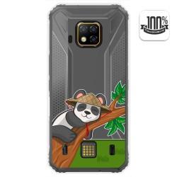 Funda Gel Transparente para Doogee S95 Pro diseño Panda Dibujos