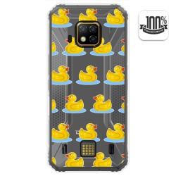 Funda Gel Transparente para Doogee S95 Pro diseño Pato Dibujos