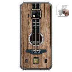 Funda Gel Tpu para Doogee S95 Pro diseño Madera 11 Dibujos