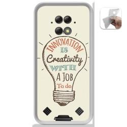 Funda Gel Tpu para Blackview BV9800 / BV9800 PRO diseño Creativity Dibujos