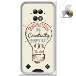 Funda Gel Tpu para Blackview BV9800 / BV9800 PRO diseño Creativity Dibujos