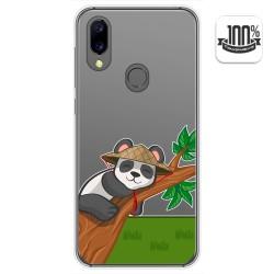 Funda Gel Transparente para Umidigi A3X diseño Panda Dibujos