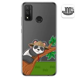 Funda Gel Transparente para Huawei P Smart 2020 diseño Panda Dibujos
