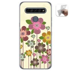 Funda Gel Tpu para Lg K61 diseño Primavera En Flor Dibujos