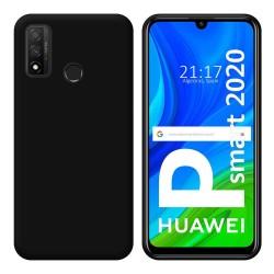Funda Silicona Gel TPU Negra para Huawei P Smart 2020