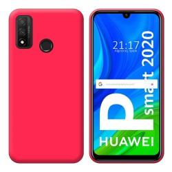 Funda Silicona Gel TPU Rosa para Huawei P Smart 2020