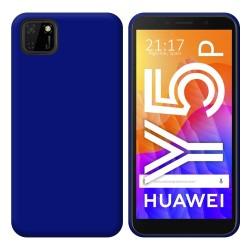 Funda Silicona Gel TPU Azul para Huawei Y5p
