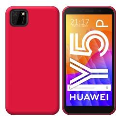 Funda Silicona Gel TPU Rosa para Huawei Y5p