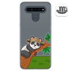 Funda Gel Transparente para Lg K41s / Lg K51s diseño Panda Dibujos