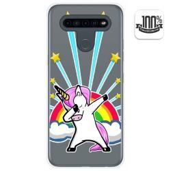 Funda Gel Transparente para Lg K41s / Lg K51s diseño Unicornio Dibujos