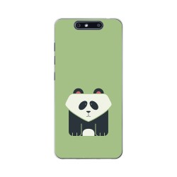 Funda Gel Tpu para Zte Blade V8 Diseño Panda Dibujos