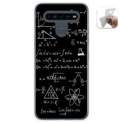 Funda Gel Tpu para Lg K41s / Lg K51s diseño Formulas Dibujos