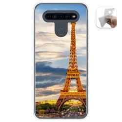 Funda Gel Tpu para Lg K41s / Lg K51s diseño Paris Dibujos