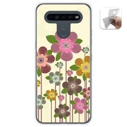 Funda Gel Tpu para Lg K41s / Lg K51s diseño Primavera En Flor Dibujos