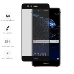 Protector Cristal Templado Frontal Completo Negro para Huawei P10 Lite Vidrio