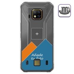 Personaliza tu Funda Gel Silicona Transparente con tu Fotografia para Doogee S95 Pro dibujo personalizada