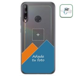 Personaliza tu Funda Pc + Tpu 360 con tu Fotografia para Huawei P40 Lite E dibujo personalizada