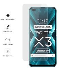 Protector Cristal Templado para Realme X3 SuperZoom Vidrio