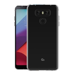 Funda Gel Tpu Fina Ultra-Thin 0,3mm Transparente para Lg G6