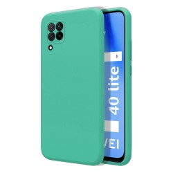 Funda Silicona Líquida Ultra Suave para Huawei P40 Lite color Verde