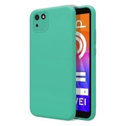 Funda Silicona Líquida Ultra Suave para Huawei Y5p color Verde