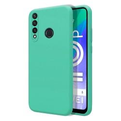 Funda Silicona Líquida Ultra Suave para Huawei Y6p color Verde
