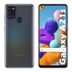 Funda Silicona Gel TPU Transparente para Samsung Galaxy A21s