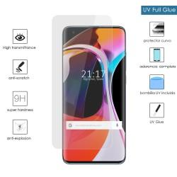 Protector Cristal Templado Completo Curvo UV Full Glue para Xiaomi Mi 10 / Mi 10 Pro