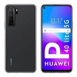 Funda Silicona Gel TPU Transparente para Huawei P40 Lite 5G