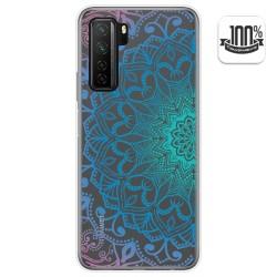 Funda Gel Transparente para  Huawei P40 Lite 5G diseño Mandala Dibujos